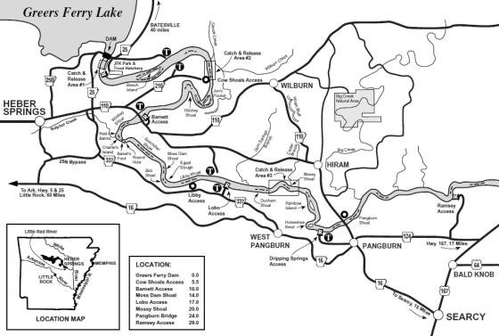 Little Red River Arkansas Map.Arkansas Drift Website About Me